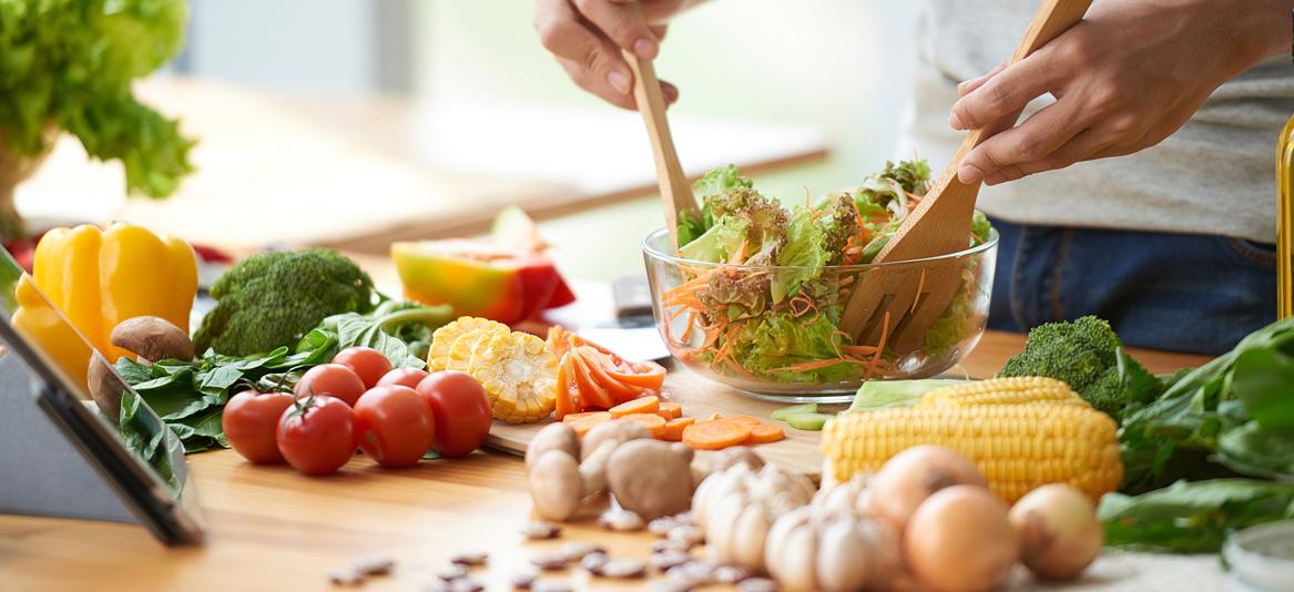 alimentação saudável na quarentena